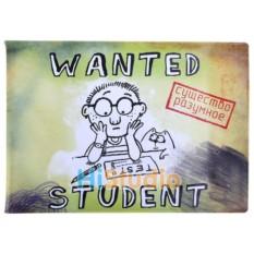 Обложка для зачетной книжки Студент в розыске