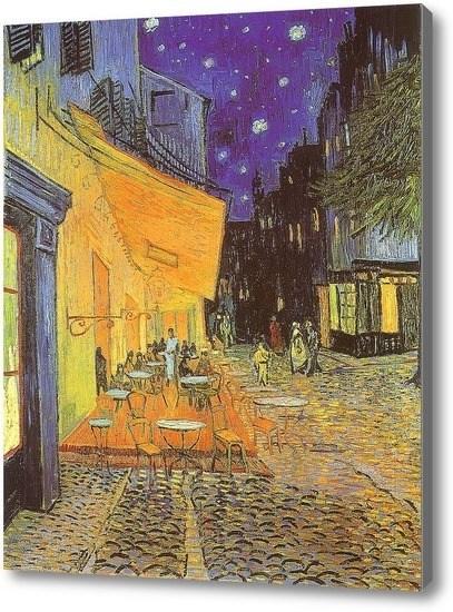 Репродукция картины Ночное кафе