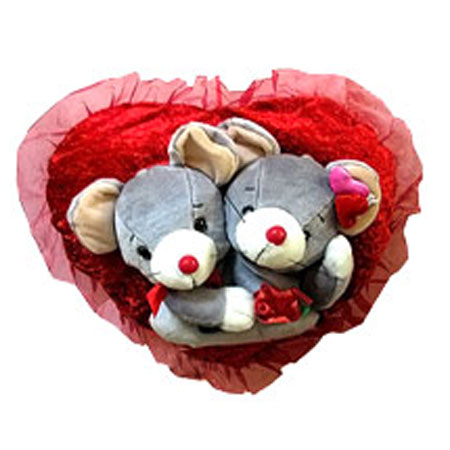 Влюбленные на сердце
