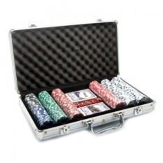 Набор для покера на 300 фишек в кейсе