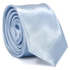Узкий галстук (голубой)