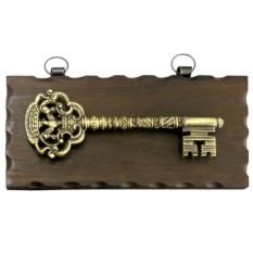 Настенная ключница (под золото)