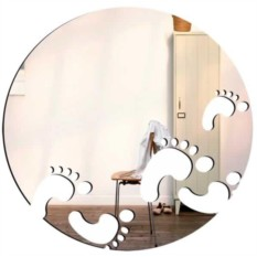 Декоративное зеркало Ножки