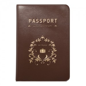 Обложка для паспорта Iconic Brown