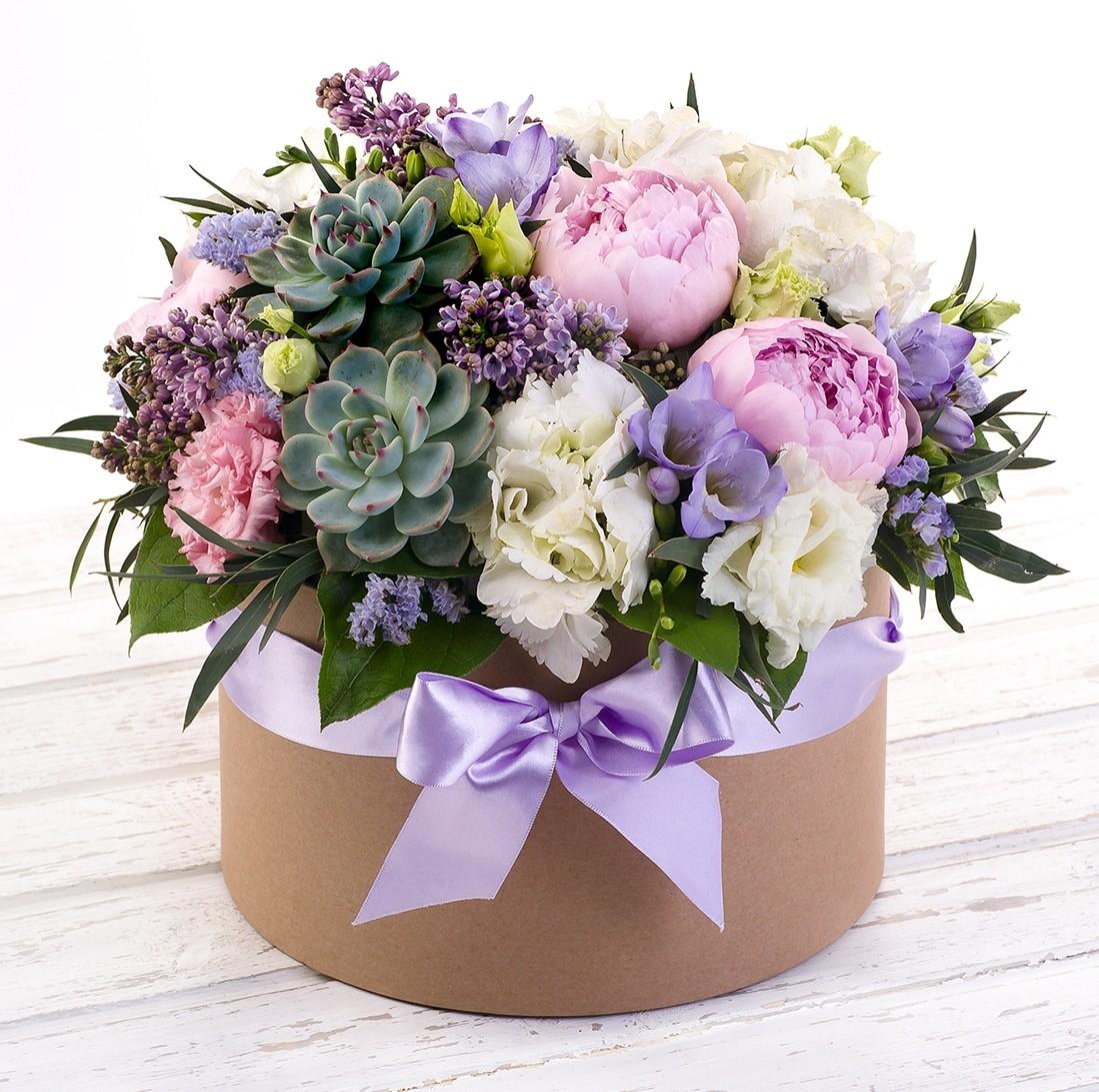 Букет цветов Безмятежная юность