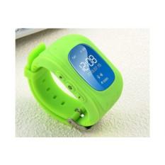 Зеленые умные детские часы с GPS Smart Baby Watch Q50
