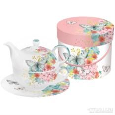 Чайный набор в подарочной коробке Louise butterfly