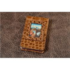 Визитница карманная Elole Design Art (светло-коричневый)