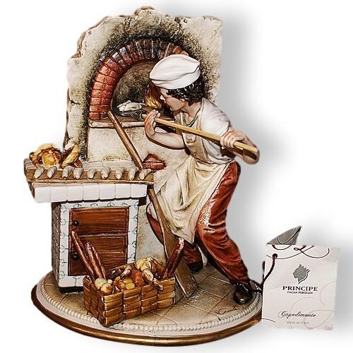 Статуэтка из фарфора Пекарь Porcellane Principe
