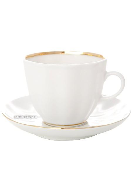 Кофейная чашка с блюдцем, форма Тюльпан рисунок Белоснежка