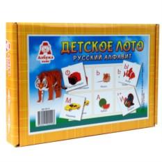 Детское лото «Русский алфавит»