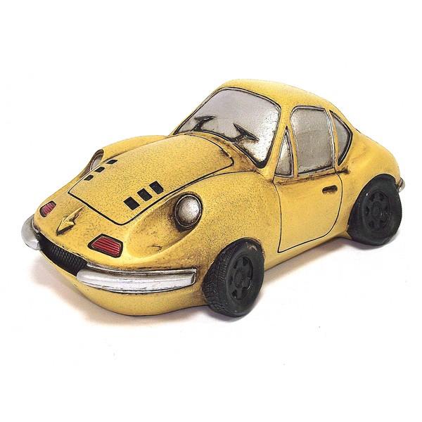 Копилка Гоночный авто желтый