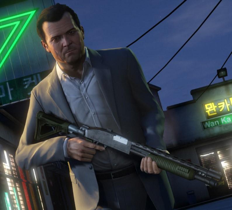 Герой игры (GTA V, Half-Life, Second Life)