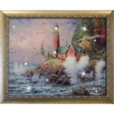 Картина Swarovski Маяк на берегу
