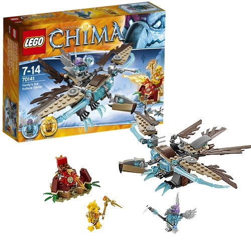 Конструктор Lego Legends of Chima Ледяной планер Варди