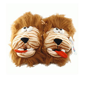 Тапочки домашние «Лохматый лев»