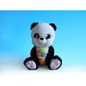 Панда с мороженым