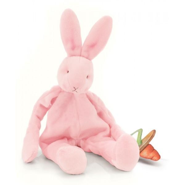Комфортер и держатель для соски Розовый зайка