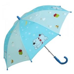 Зонт Настроение − Мишка и звезды, голубой