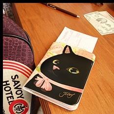 Обложка для паспорта «Play - Pink rose»