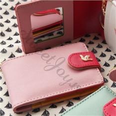 Кардхолдер с зеркалом Twinkle Mirror Card – Pink