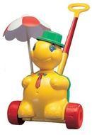 Игрушка-каталка с ручкой Черепашка Тортила