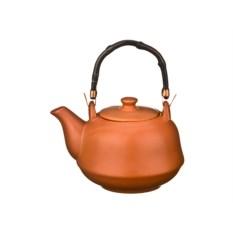 Коричневый заварочный чайник ,объем 650 мл