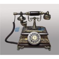 Кнопочный ретро-телефон Паскаль