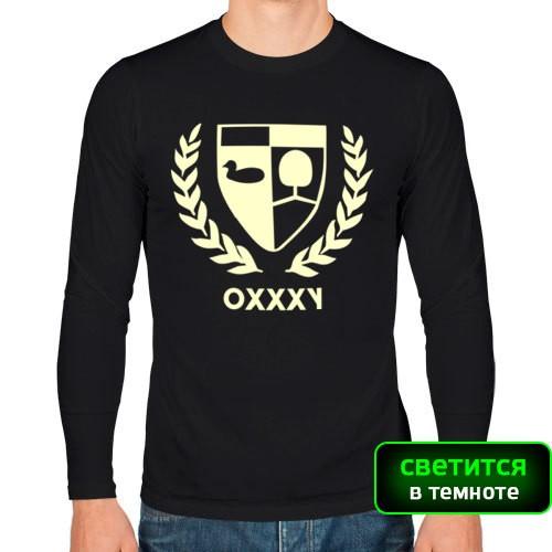 Мужская футболка с длинным рукавом Oxxxymiron Утка и Липа