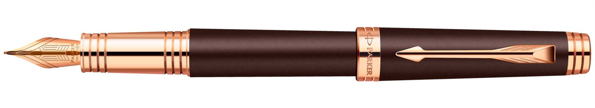 Перьевая ручка Parker Premier Soft F560 Brown PGT