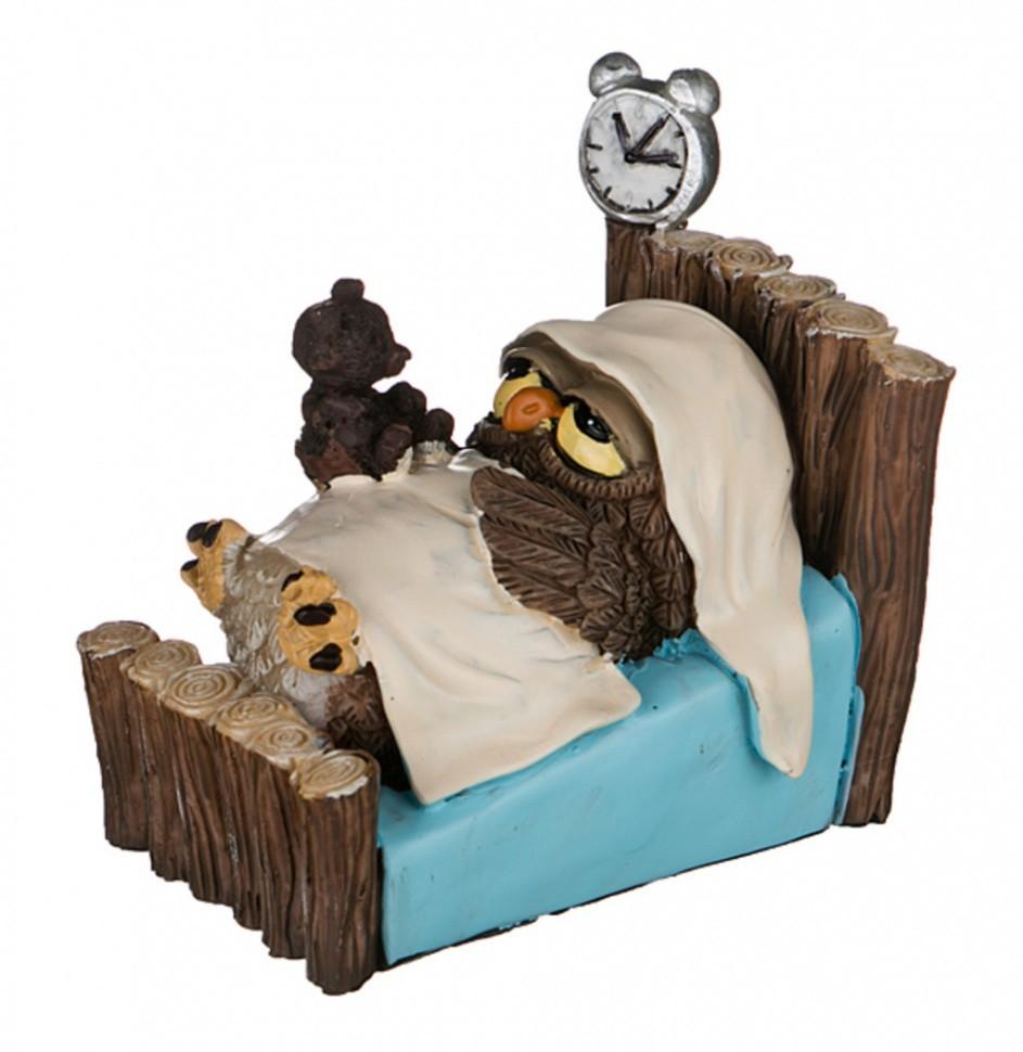 Фигурка Сова в кровати