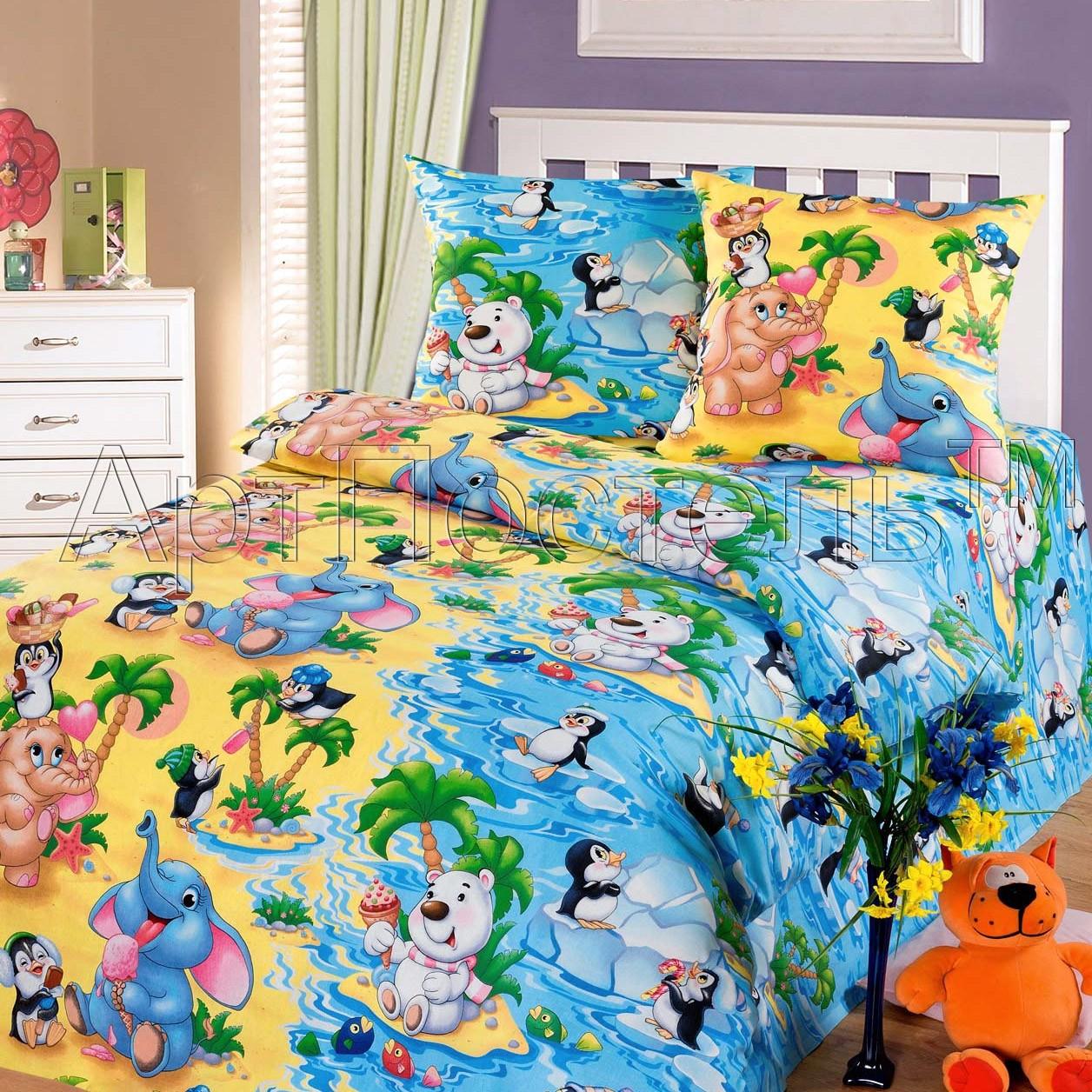Детское постельное белье Чудо остров «Артпостель»