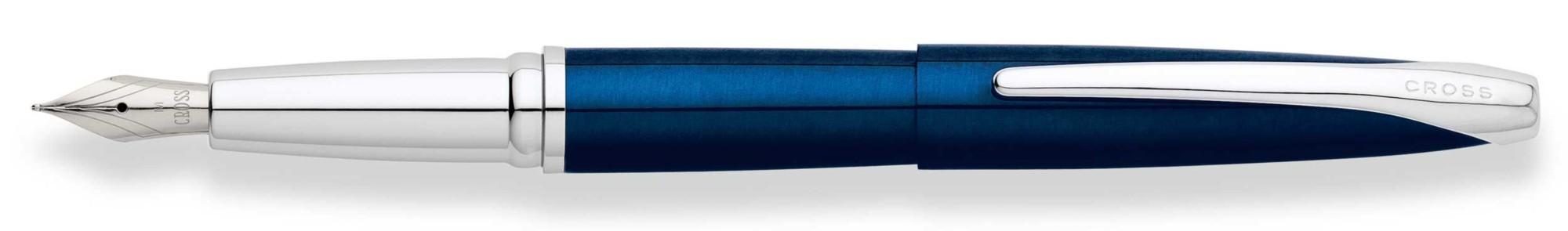 Перьевая ручка Cross ATX Blue Lacquer F