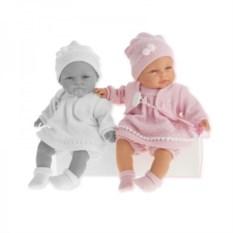 Кукла-малыш Соня в ярко-розовом Munecas Antonio Juan