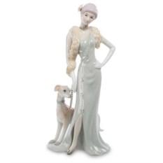 Статуэтка Pavone Дама с собакой