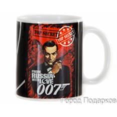 Подарочная кружка Агент 007
