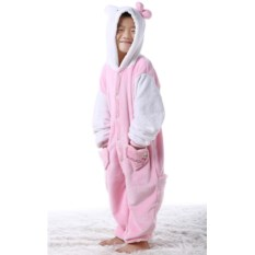 Детская кигуруми Розовый котенок