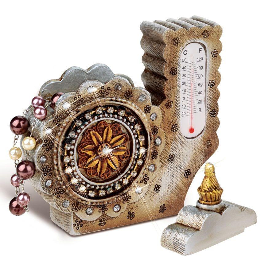 Шкатулка с термометром