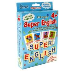 Комплекс настольных игр «Super English»