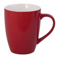 Красная кружка Good morning