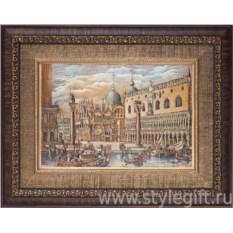 Панно-гравюра Старая Венеция