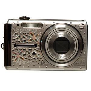 Фотоаппарат Olympus FE-340 со стразами