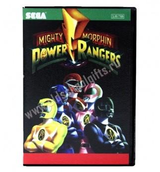 Картридж для Sega - игра Power Rangers Mighty Morphin