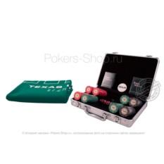Набор для покера Luxury Ceramic на 200 фишек Premium