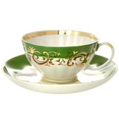 Фарфоровый чайный сервиз на 6 персон Кружево