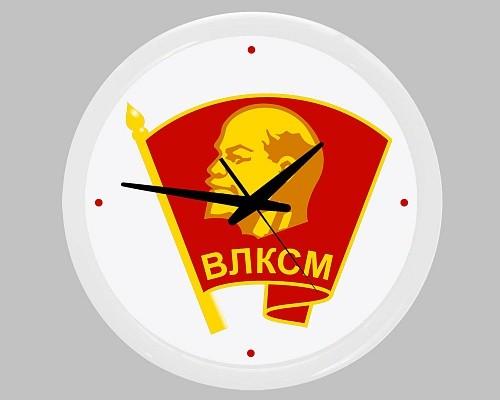 Настенные часы «Комсомольский значок»