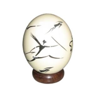 Яйцо страусиное «Сафари»