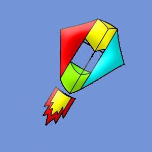 Воздушный змей «Разведчик»