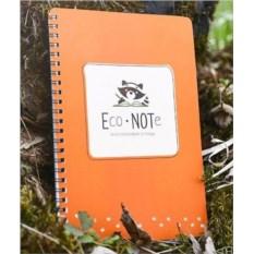 Оранжевая многоразовая тетрадь EcoNote
