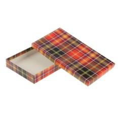 Малая подарочная коробка Шотландка